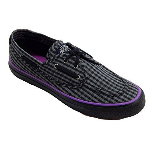 Sperry Top-Sider Womens Seamate Black Gingham Sneaker Black Gingham a6U8AOA0