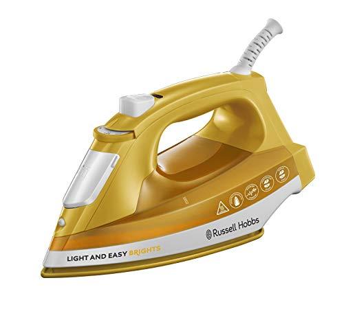 Russell-Hobbs-Light-Easy-Brights-Plancha-de-Ropa-de-Vapor-2400W-Suela-de-Ceramica-Amarillo-Mango-ref-24800-56