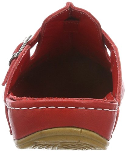 Femme Andrea Rot Sabots Conti 0025737 Rouge 021 ttzHw