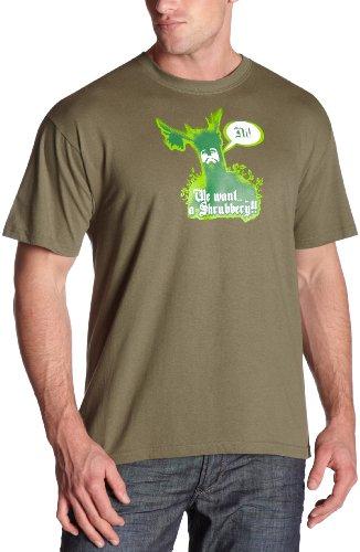 Balzout Men's Monty Python Shubbery T-Shirt