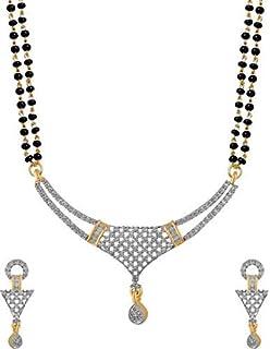 353b84d98 Buy Cardinal American Diamond Latest Design mangalsutra Pendant ...
