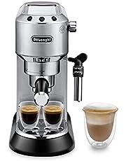 De'longhi Dedica Style Pump Coffee Machine, EC685M Silver Medium
