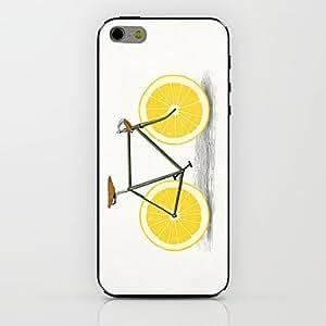 ZXM- caso duro del patrón de la bici de limón para el iphone 6