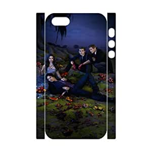 Vampire Diaries HILDA5033397 3D Art Print Design Phone Back Case Customized Hard Shell Protection Iphone 5,5S