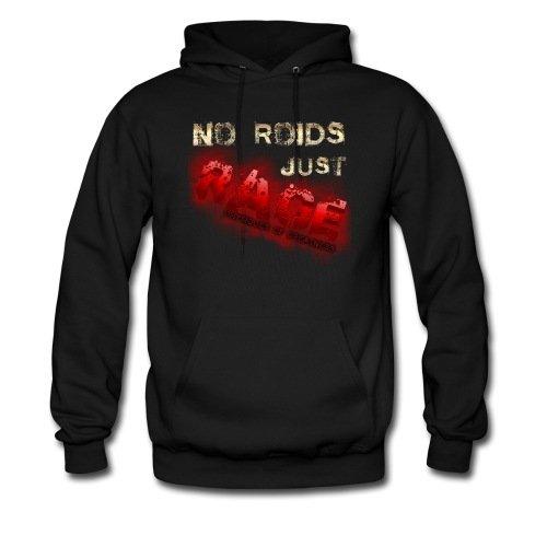 Spreadshirt Men's redfront mp DONE Hoodie, black, XL