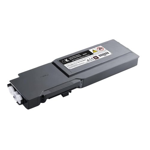 Original Dell 331-8429 Extra High Yield Black Toner Cartridge for C3760N/ C3760DN/ C3765DNF Color Laser Printer Extra High Yield Color Laser