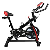 Auxega Home Exercise BikeBike Exercise Machine Indoor Exercise Bike Indoor Cycle Bike Stationary Cycling Exercise Home Gym Bicycle Equipment with LCD Display
