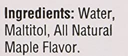 Joseph\'s Sugar Free Syrup, Maple Flavor, 12 Fl. Oz. (Pack of 2)