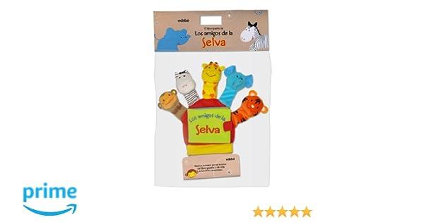 Mis Amigos De La Jungla (Libros para bebés): Amazon.es: Equipo Edebé, VV.AA.: Libros
