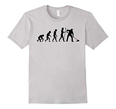 Custodian Evolution Funny Janitor Shirt