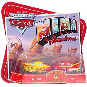 Disney CARS Mini Adventures Radiator Springs Fire Dept. 2-Pack Ramone and Flo