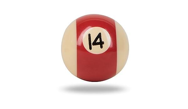 Rojo bolas de billar pomo por Trinca-Ferro: Amazon.es: Bricolaje y herramientas