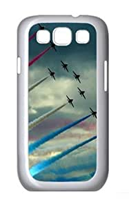 Air Show PC Case Cover for Samsung Galaxy S3 and Samsung Galaxy I9300 White
