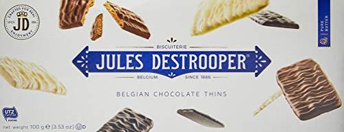 Biscoito Chocolate Thins Jules Destrooper 100g
