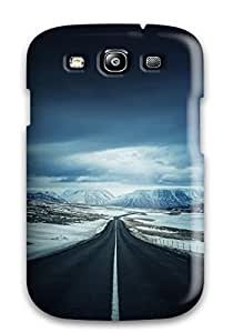 Hot Fashion ELeLgTA4258eWoDu Design Case Cover For Galaxy S3 Protective Case (iceland's Ring Road)