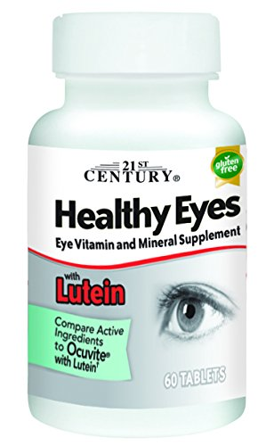 21st Century Healthy Eyes with Lutein Tablets, 60 Count by 21st Century (Image #8)