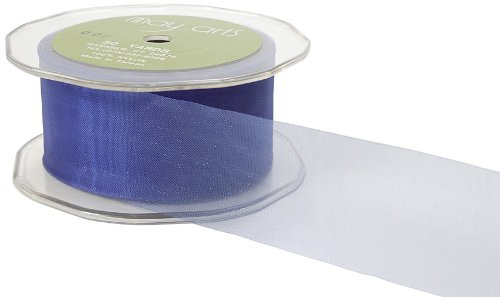 May Arts 1-1/2-Inch Wide Ribbon, Blue Purple Sheer by May Arts