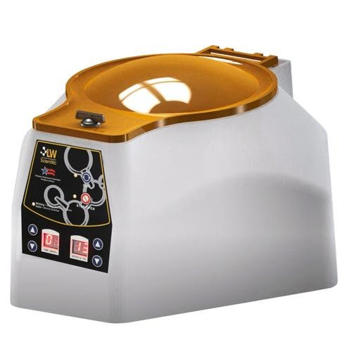 LW Scientific PTC-06SH-15T3 6-Place Centrifuge, Heated Chamber, Swing-Out Rotor, Digital, 12V