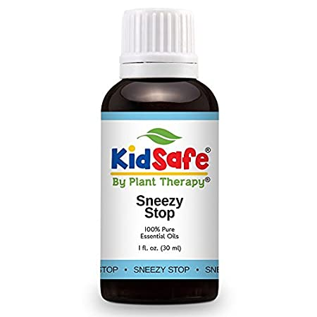 Plant Therapy KidSafe Sneezy Stop Synergy Essential Oil 10 mL (1/3 oz) 100% Pure, Undiluted, Therapeutic Grade Plant Therapy Essential Oils