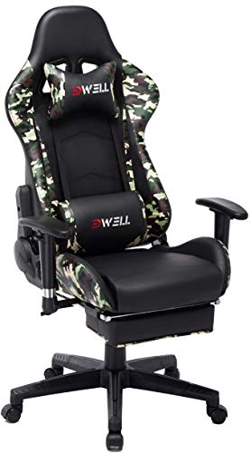 EDWELL Ergonomic Gaming Chair with Headrest