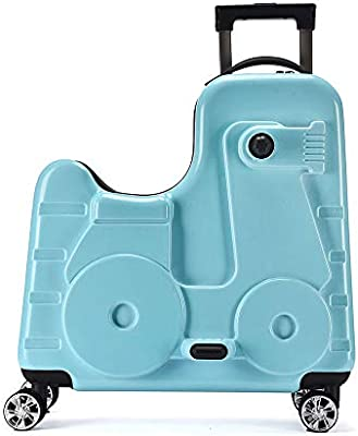 Kids S Luggages 20inch Hard Shell Suitcase For Girls Boys Ride