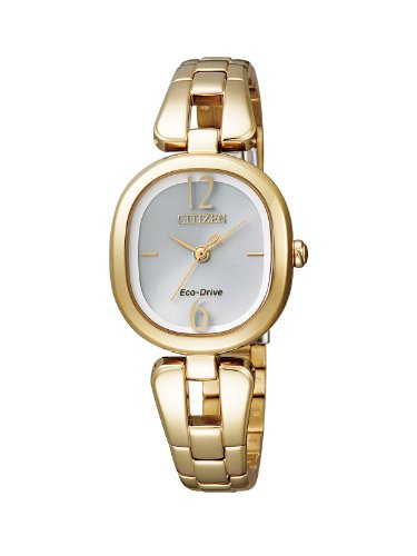 Citizen Ladies 'Watch XS Analog Quartz Stainless Steel Coated EM0185 52 A