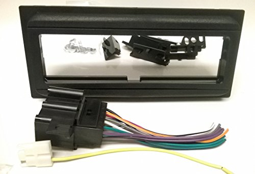 Dash kit and wire harness for installing a new Single Din Radio into a CHEVROLET BLAZER (Full Size) ( 1988 - 1991 ) , CAVALIER ( 1982 - 1987 ) , CITATION II ( 1985 ) , EL CAMINO ( 1986 - 1988 ) ..