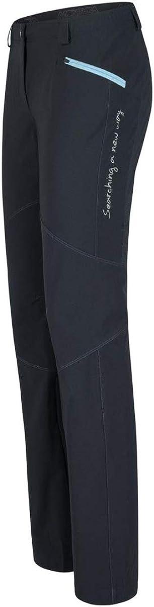 MONTURA - Pantalón de mujer ligero Dolomia - Negro-XL