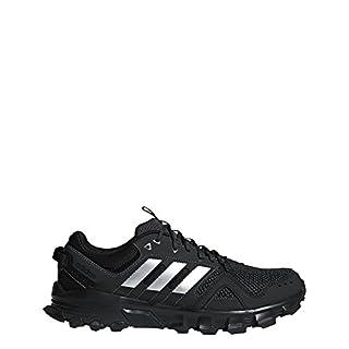 7adf3657291f6 adidas Men's Rockadia m Trail Running Shoe, Core Black/Matte Silver ...
