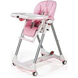 Peg Perego Prima Pappa Diner High Chair, Savana Rose