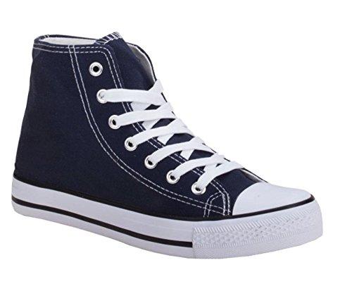 Mujer Zapatillas Azul azul altas Jumex 0Ex8q706