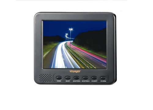 """Voyager AOM562HD Voyager 5.6"""" Medium Duty Rear View LCD Monitor with 2 Camera Inputs"""