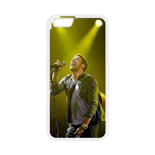 Coldplay coque iPhone 6 4.7 Inch Housse Blanc téléphone portable couverture de cas coque EBDXJKNBO17236