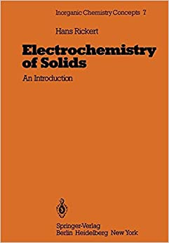 Electrochemistry of Solids: An Introduction (Inorganic Chemistry Concepts)