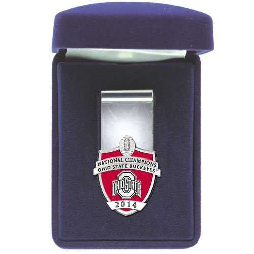 Ohio State Buckeyes 2014 National Champions Money Clip