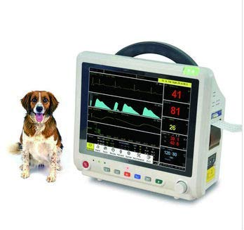 - Smart138 SM5000V 12.1 inch Veterinary Multi-Parameter Patient Monitor for Cats, Dogs and Horses