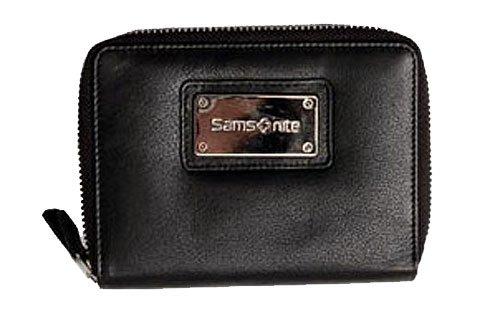 Samsonite Lady Elegance Damen Geldbörse Leder 14,5 cm schwarz