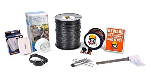 Electric Dog Fence™ PetSafe YardMax Containment System Professional Grade Complete DIY Installation Kit (1/2 to 1 Acre Coverage Area) (1 Dog Kit)