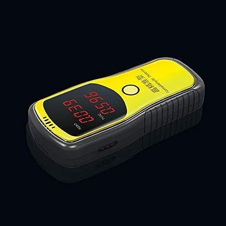 Henreal Tragbarer Formaldehyd-Detektor Luftqualit/ätsmessger/ät Formaldehyd Luftqualit/ätsmesser blau