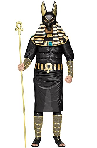 Anubis Adult Costumes (Anubis the Egyptian God Plus Size Costume)