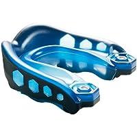Shock Doctor Gelmax - Protector bucal, color azul y negro