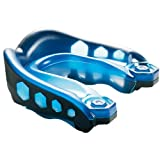 Black Blue Adult's Gel Max Shockdoctor Mouthguard