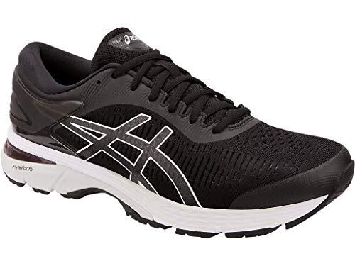 ASICS Gel Kayano 25 Men's Running Shoe, Black/Glacier Grey, 7 D US by ASICS (Image #2)
