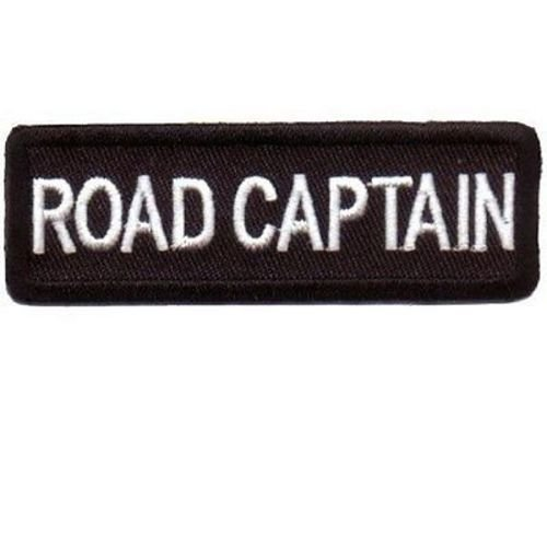 ROAD CAPTAIN Embroidered Motorcycle MC Club Biker Leather Vest Patch PAT-1557 heygidday
