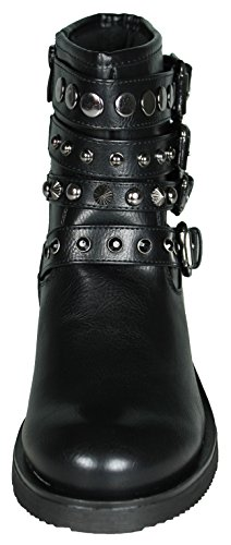 Mevina Women's Chukka Boots Schwarz Modell 2 AcE7Hw