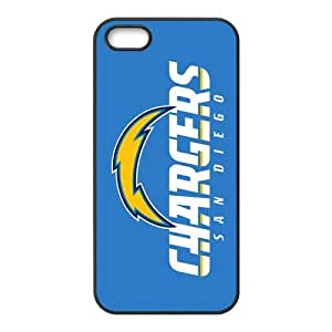 Custom San Diego Chargers NFL Series Back Cover Case for iphone 5,5S JN5S-1923