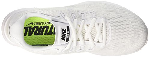 white Platinum 2017 Scarpe Bianco Free Running white black Donna Run pure Nike 1nwfxqqp