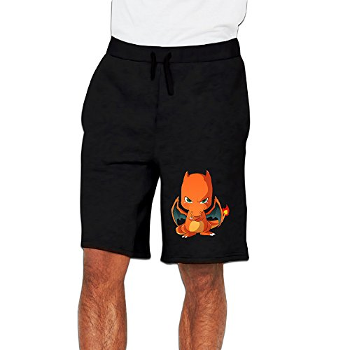 CGH Seven Angry Charizard Men's Cargo Shorts With Pocket Size3X Black ()