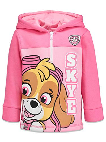 Paw Patrol Skye Toddler Girls Fleece Half-Zip