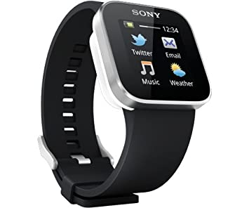 "Sony SmartWatch MN2 1.3"" OLED Negro reloj inteligente - Relojes inteligentes (3,3"